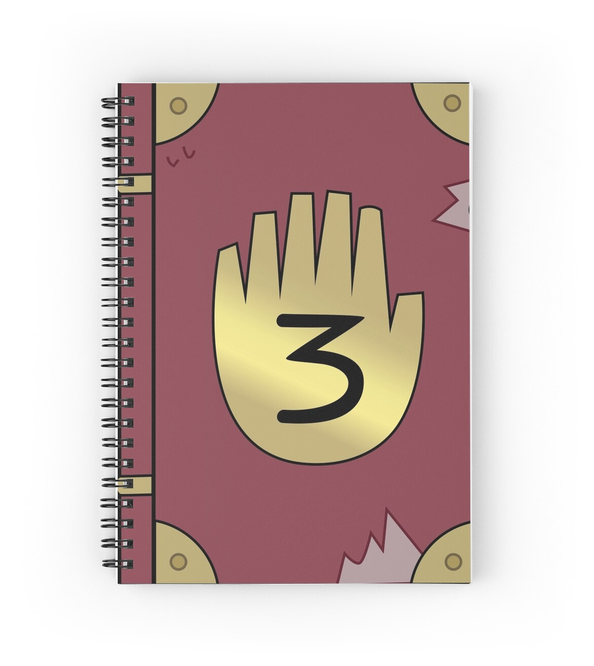 gravity falls journal 3 spiral notebooks by