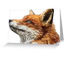 The Sly Fox Greeting Card