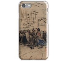 Dance Hall Antwerp, December  Vincent van Gogh iPhone Case/Skin