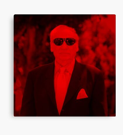 Mel Brooks - Celebrity (Square) Canvas Print