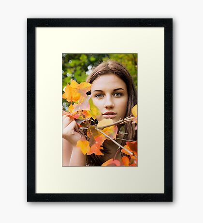 Autumn Beauty.... Framed Print