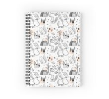 Woodland Whimsy Spiral Notebook