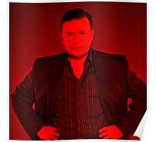 Ricky Gervais - Celebrity (Square) Poster