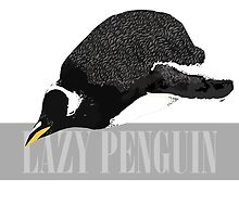 Lazy Penguin by Toucano