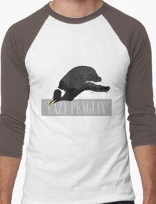 Lazy Penguin Men's Baseball ¾ T-Shirt