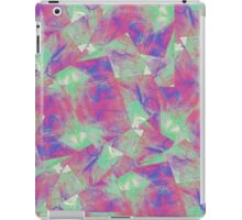 Carnival in Blue, Green and Magenta iPad Case/Skin