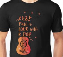 Fall in love with KPOP sarang Unisex T-Shirt