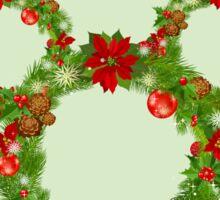 Mickey Christmas Holiday Design Sticker