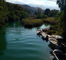 Cretan River by Maibie