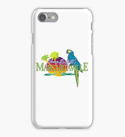 Jimmy Buffett Margaritaville Logo iPhone Case/Skin