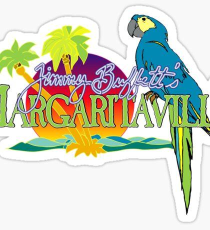 Jimmy Buffett Margaritaville Logo Sticker