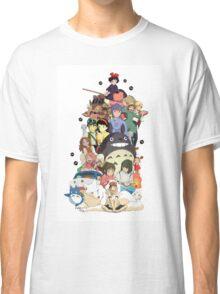 Studio Ghibli Characters Classic T-Shirt