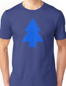 Dipper Pines Tree Shape // Gravity Falls Unisex T-Shirt