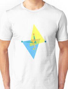 Double Arrow Rhombus  Unisex T-Shirt