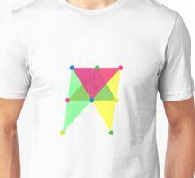 'Symmetrical' Slanted Rectangle  Unisex T-Shirt