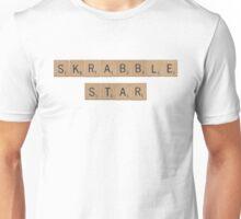 Skrabble (Scrabble) Star Unisex T-Shirt