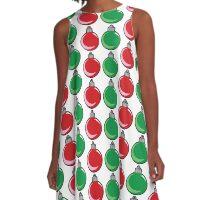 Ornaments A-Line Dress