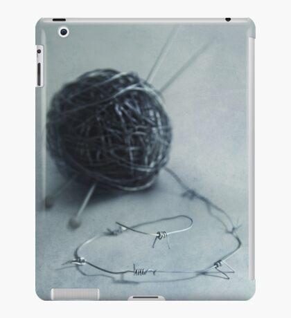 Lets knit a bit iPad Case/Skin