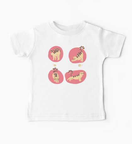 My Yoga Kittens #redbubble #trending #stickers Baby Tee