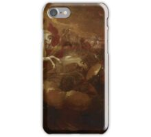 Destruction of the Beast and the False Prophet, Benjamin West iPhone Case/Skin