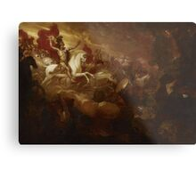 Destruction of the Beast and the False Prophet, Benjamin West Metal Print