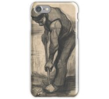 Digger Nuenen, July - September  Vincent van Gogh iPhone Case/Skin