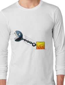 Angry Stone Ball Long Sleeve T-Shirt