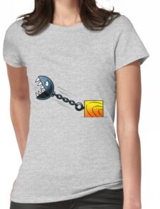 Angry Stone Ball Womens Fitted T-Shirt