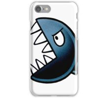 Angry Stone Ball iPhone Case/Skin