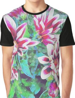 Colourful Floral 1 Graphic T-Shirt
