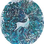 Roses and Snowflakes by Rebecca Yoxall