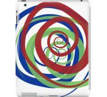 spirals intersection iPad Case/Skin