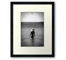 summer day in Croatia Framed Print