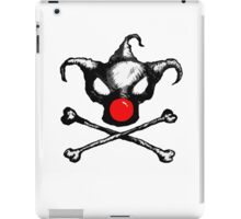 Bozo Skull 2  - Red Nose iPad Case/Skin