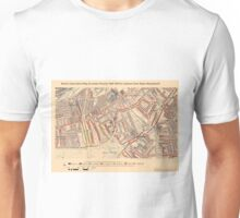 Booth's Map of London Poverty for Clapham Town ward, Wandsworth Unisex T-Shirt