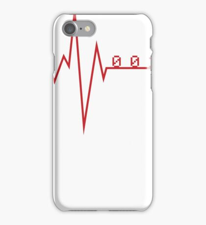 Programmer HeartBeat iPhone Case/Skin