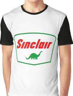 Oil lubricant Vintage Sinclair logo Graphic T-Shirt