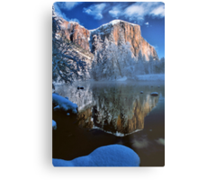 REFLECTION OF EL CAPITAN* Metal Print
