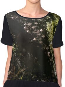 In the depths of the forest Chiffon Top