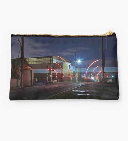Train Passing (in the night) Studio Pouch