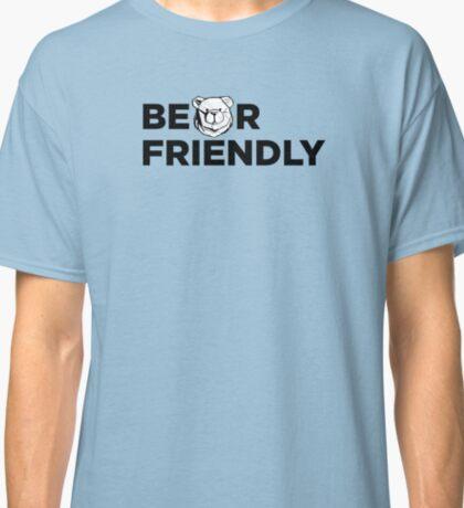 Robust Bear friendly black Classic T-Shirt