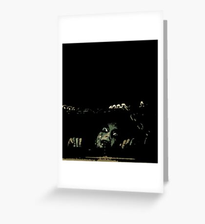 EVIL DEAD - CELLAR Greeting Card