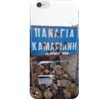 They enjoying shooting in Crete iPhone Case/Skin