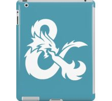 DnD logo (White) iPad Case/Skin