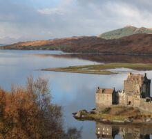 Eilean Donan Castle in Autumn Sticker
