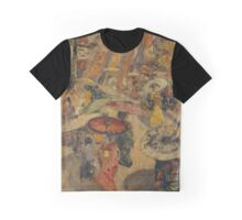 EDWARD BOREIN ) pen & ink on paper Graphic T-Shirt