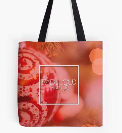 Fabulous and Us: Christmas Red Tote Bag