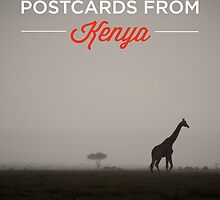 Postcards From Kenya Calendar by noeldolan