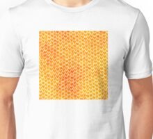 Mermaid Scales - Orange Gold Unisex T-Shirt