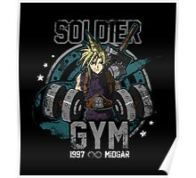 Soldier Gym Poster